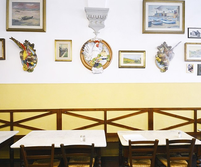 Trattoria Sergio Gozzi: authentic Tuscan «casalinga» cousine in the heart of Florence