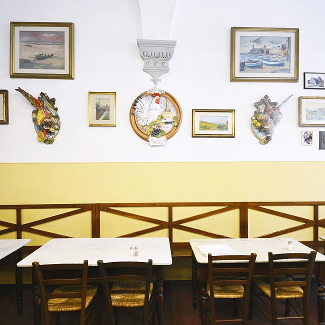 "Trattoria Sergio Gozzi: authentic Tuscan ""casalinga"" cousine in the heart of Florence"