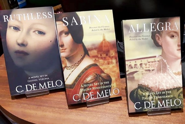 Christine De Melo literature on the Medici