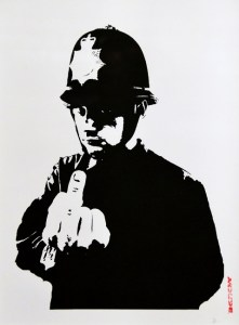 BANKSY – This is not a photo opportunity - Palazzo Medici Riccardi - Florence