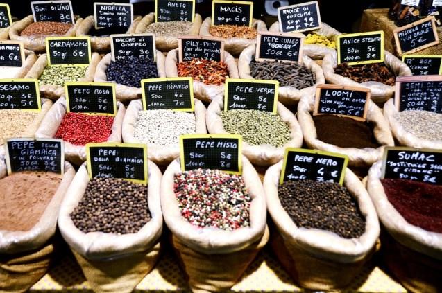 Florence Christmas market - Santa Croce
