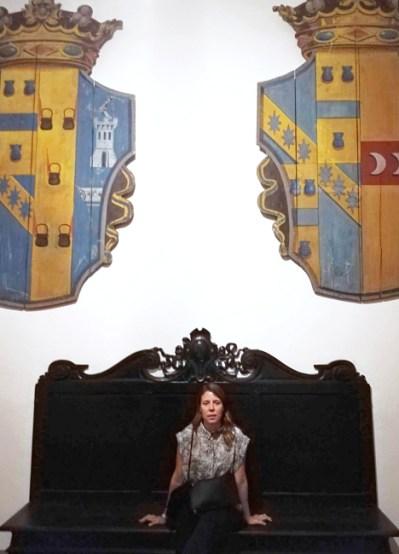 Maie Escorial at Paco Neumann's home