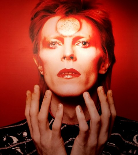 'Heroes – Bowie by Sukita.' Photo exhibition at Palazzo Medici-Riccardi