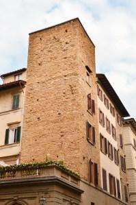 Towers of Florence - Torre degli Adimari - via Calzaiuoli
