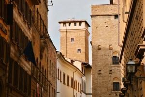 Towers of Florence - Torre dei Monaldi - via Porta Rossa
