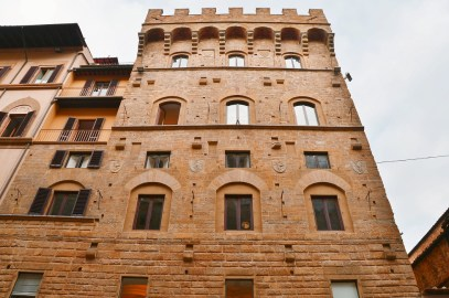 Towers of Florence - Torre dei Gianfigliazi - via Tornabouni
