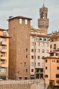 Towers of Florence - Torre dei Consorti - Lungarno, Ponte Vecchio