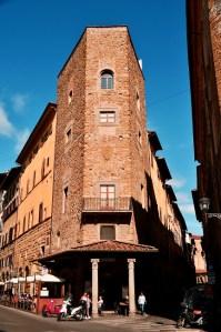 Towers of Florence - Torre degli Alberti - via dei Benci