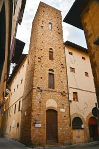 Towers of Florence - Torre della Castagna - piazza San Martino