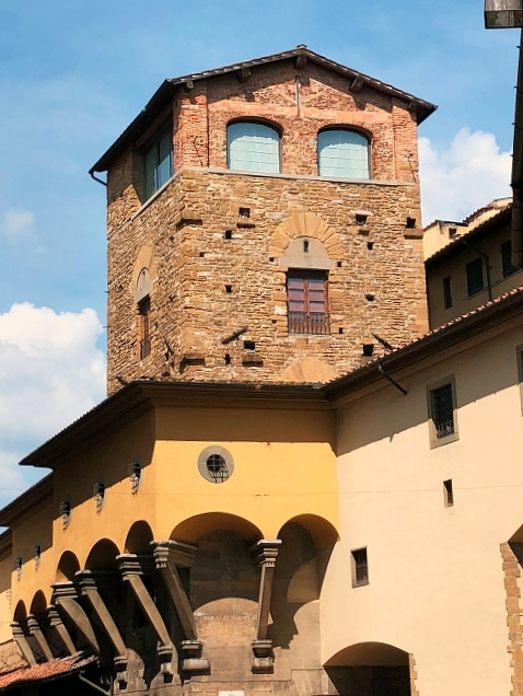 Vertical beauty: towers of Florence