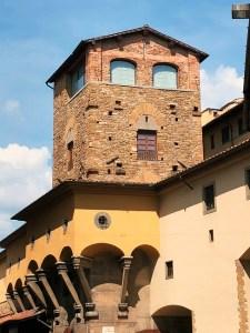 Towers of Florence - Torre dei Minnelli - Ponte Vecchio