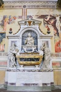 Basilica Santa Croce, Florence - Galileo Galilei's grave