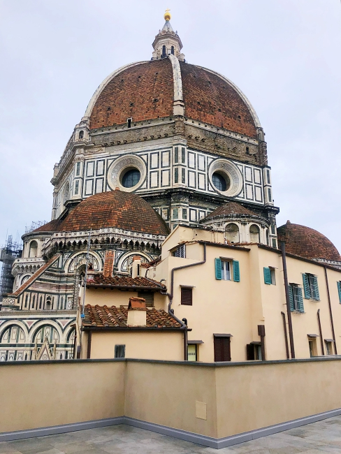 view form the museum's roof - Museo dell'Opera del Duomo, Piazza del Duomo, 9, 50122 Florence