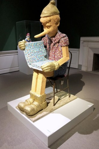 art exhibition on Pinocchio at Villa Bardini - Costa S. Giorgio, 2-4, Florence