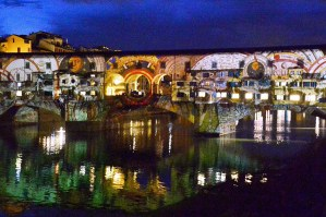 FLGHT 2019 - Firenze Light Festival - Ponte Veccio