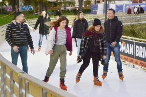 Florence Ice Village, ice-skating at Fortezza da Basso
