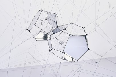 Tomás Saraceno | Aria | Palazzo Strozzi | Florence | until July 19