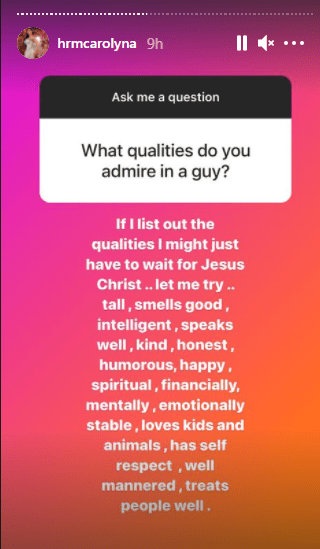 Actress Caroline Danjuma Lists Qualities She Admires In A Guy