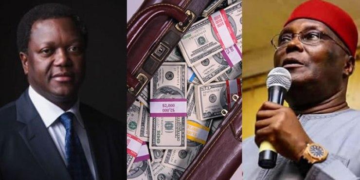 Image result for Uyi Giwa-Osagie and Atiku  ELECTION FRAUD!! DSS frees INEC officials as EFCC detains Atiku's associate over N1.5billion ($4m) alleged money laundering uyi atiku