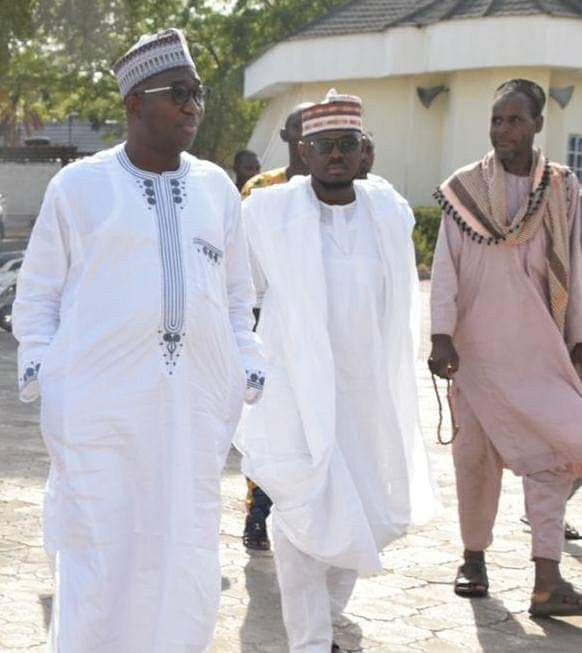 Photos: Fulani men who pledged to gift a cow to President Buhari after the election, redeem it