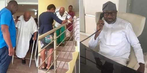Image result for Nigeria Billionaire Otedola to cover costs for ailing legend ex Coach Christian Chukwu
