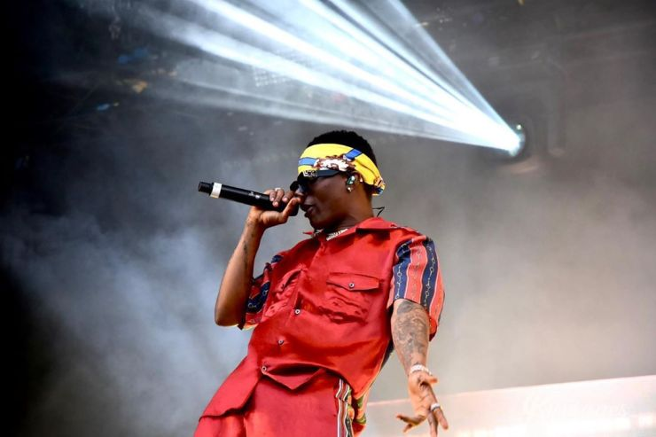 Video Of Wizkid's Live Performance At Lloyd Park, Infront Of 15,000
