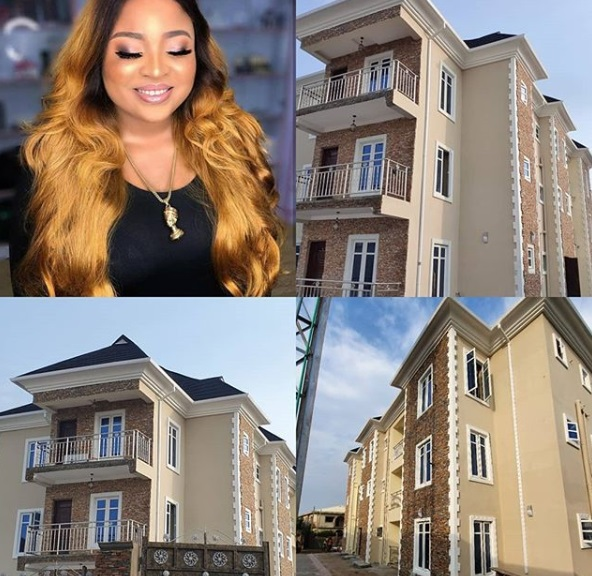 Actress Abimbola Afolayan shows off her new mini estate (Photos)