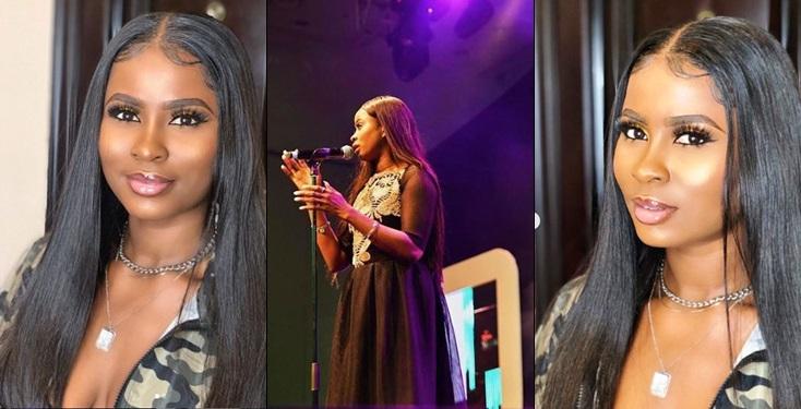 Image result for BBNaija Star, Ella Performs At Miss Nigeria 2019 Pageant (Video)