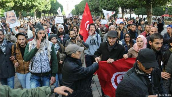 Image result for Jobless youths threaten mass suicide in Tunisia        ,    photos