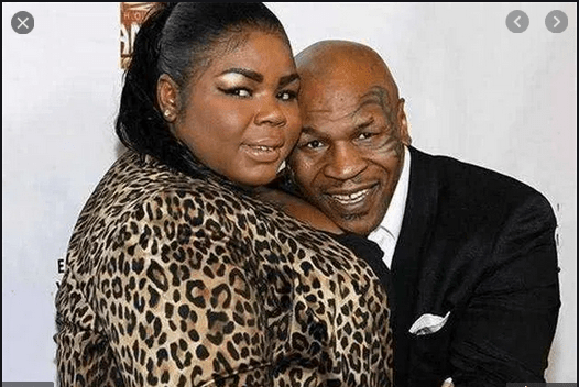 Mike Tyson and Daughter