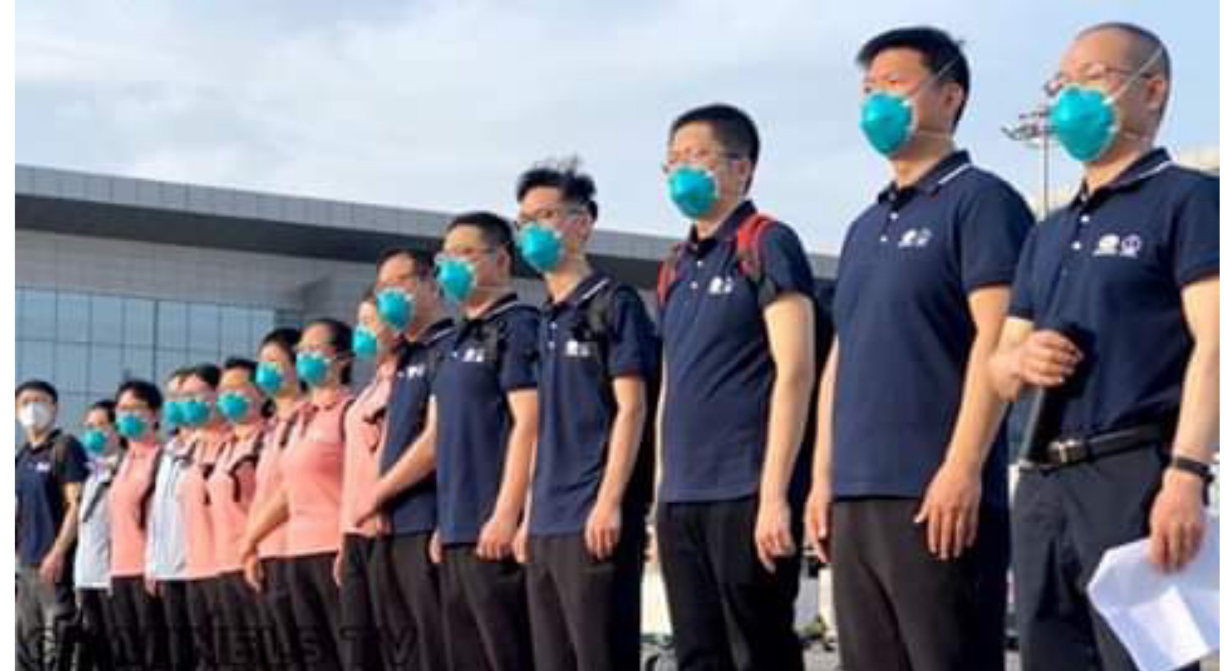 CCECC reveals what Chinese medical team came to do in Nigeria