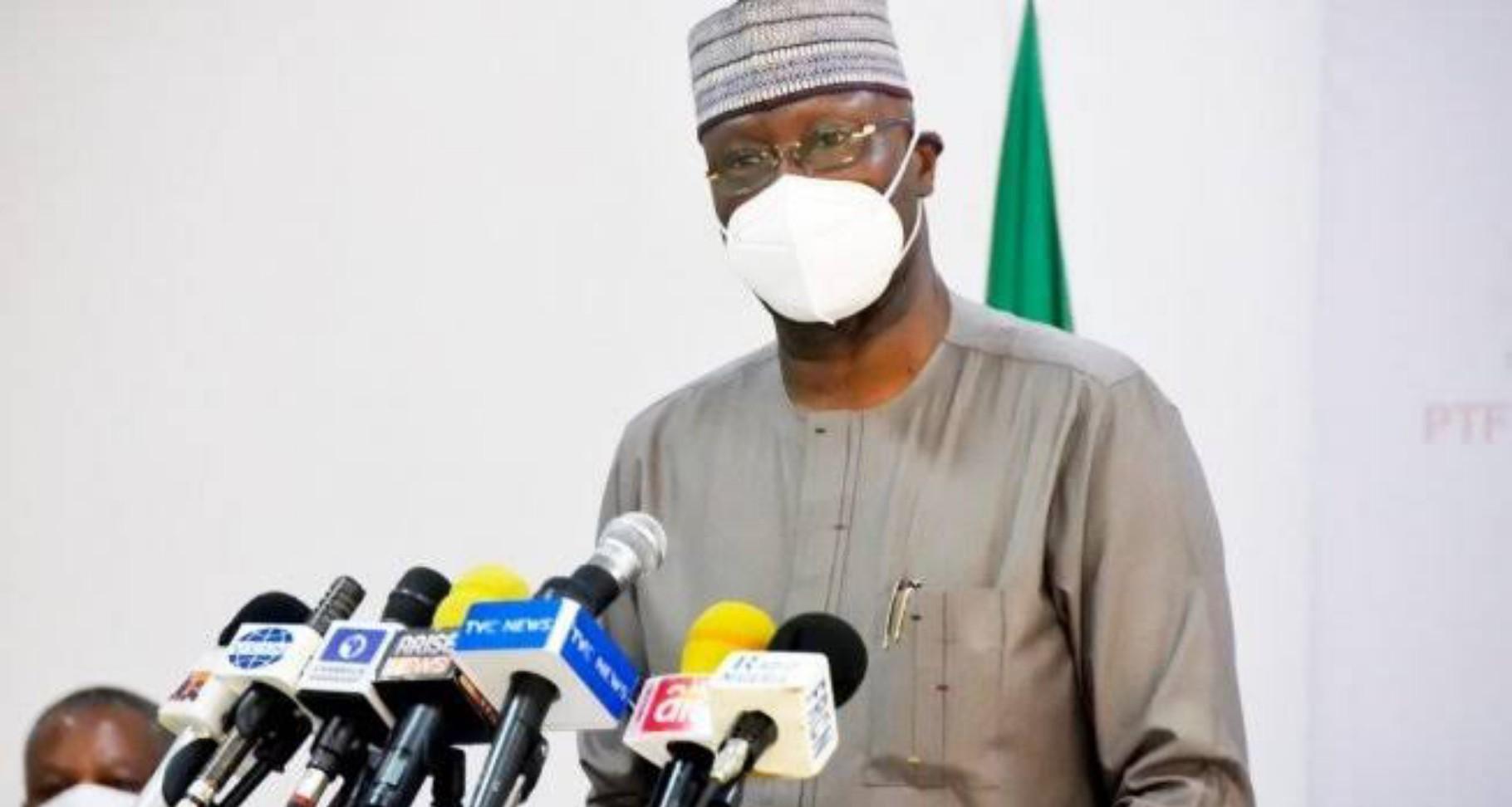 PTF chair, Boss Mustapha attends anti-coronavirus prayer in Abuja