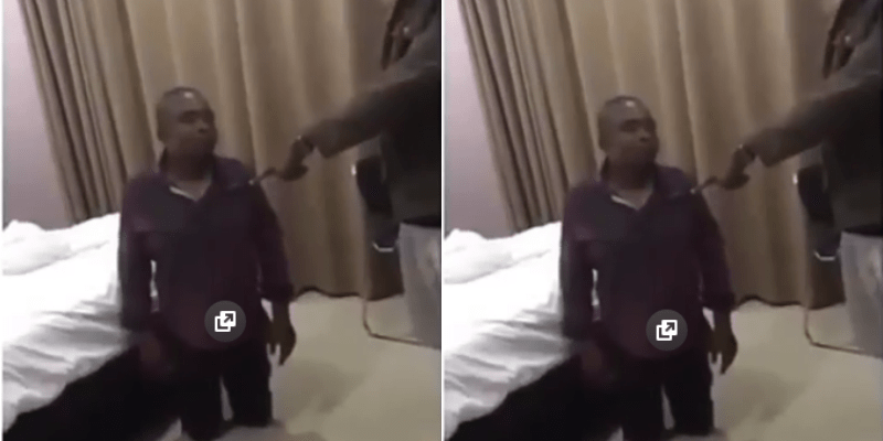 I have the right to kill you, husband says as he catches his wife in a hotel room with another man