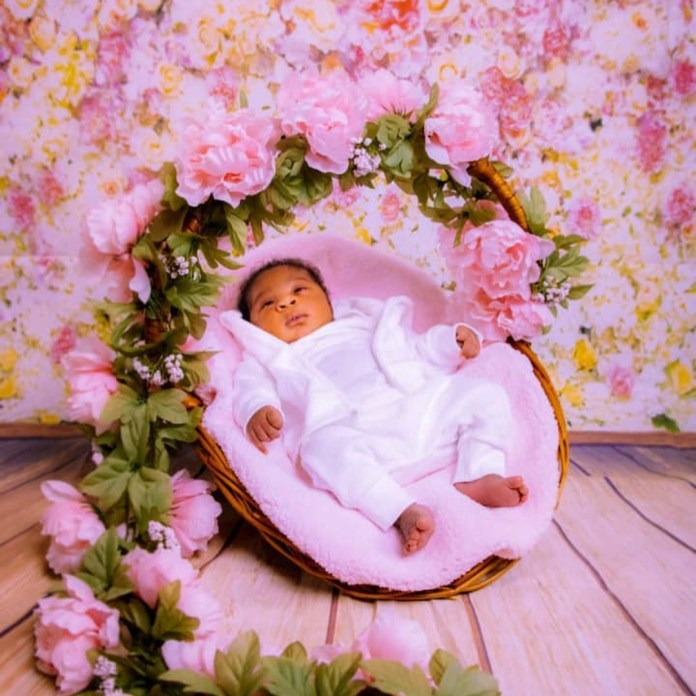 Mercy Johnson-Okojie shares adorable photos of her baby