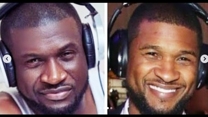 We need to question my dad over resemblance with Usher, Peter Okoye