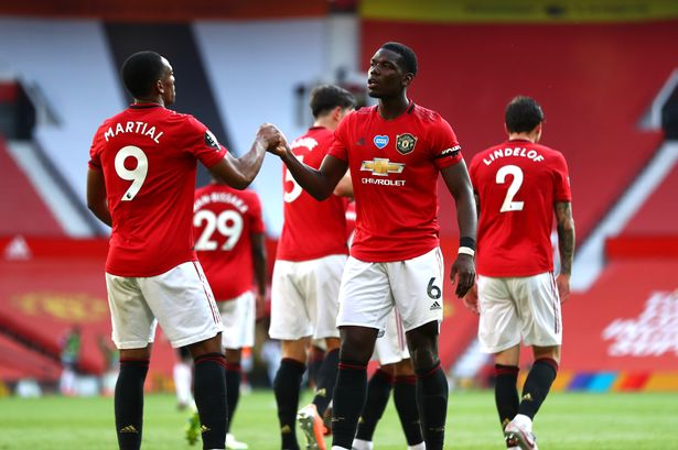 Anthony Martial scores hat-trick as Manchester United defeat Sheffield United