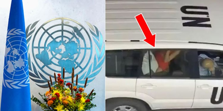 VIDEO: United Nations reacts to viral video of staff having sex in public, inside official car