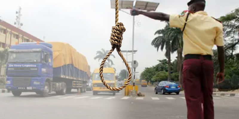 LASTMA official stabs lover, kills self in Lagos