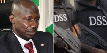 BREAKING: DSS Arrests EFCC Chairman, Ibrahim Magu