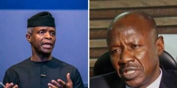VP Osinbajo breaks silence over alleged N4billion received from Magu