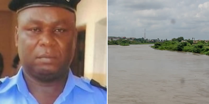 Anambra Police Officer, CSP James Nwafor, accused of killings and dumping corpses inside Ezu river