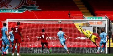 Burnley end Liverpools EPL home win record