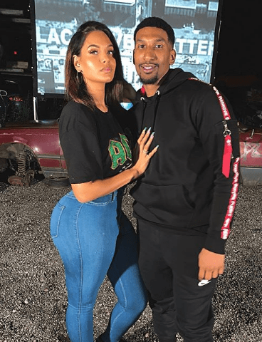 Hushpuppi's girlfriend, Amirah Dyme reveals new man (Photos)