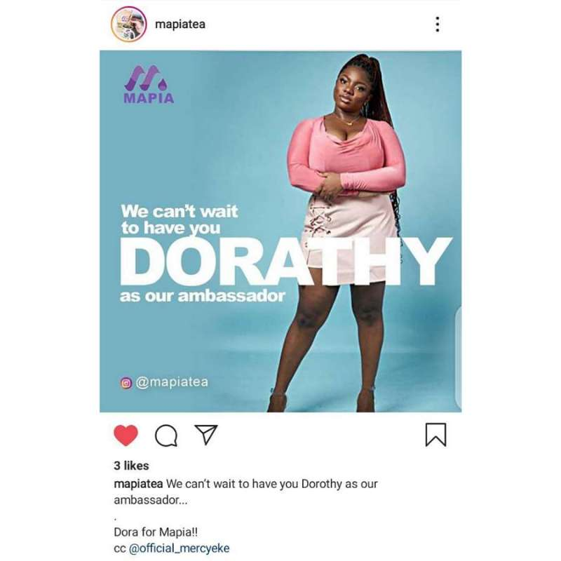 BBNaija 2020 : Popular Brand announces intention to sign Dorathy as their ambassador