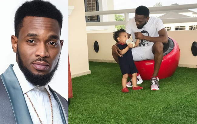 Two years after the death of his first son, Dbanj celebrates second child's first birthday