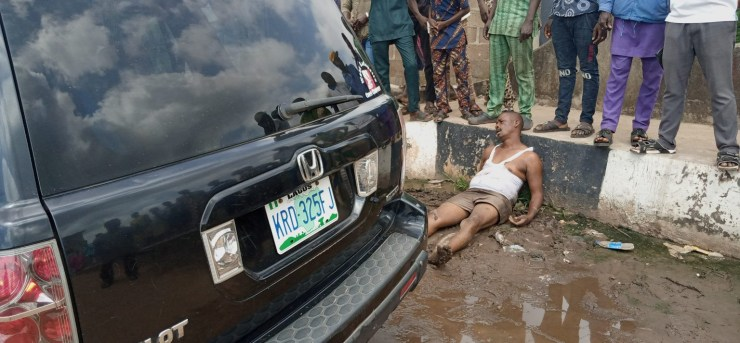 PHOTOS: OGSPAM officials allegedly beat man mercilessly in Ogun