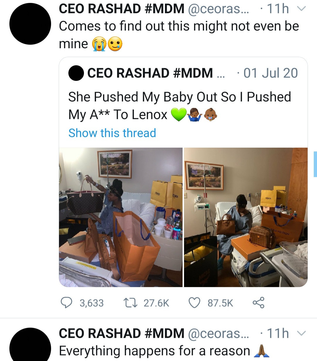 A man identified As CEO Rashad Went Viral Last Year (See Reason)