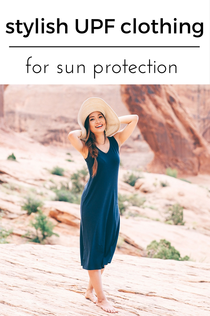 clothing with sun protection