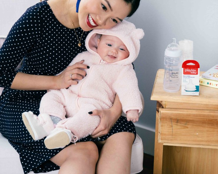 how i blog while having a job and an infant