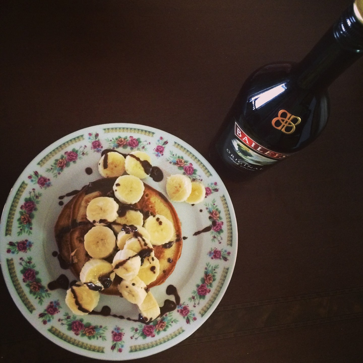 My latest craving Baileys pancakes